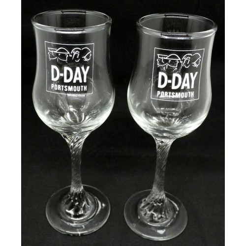 D Day Sherry Glasses