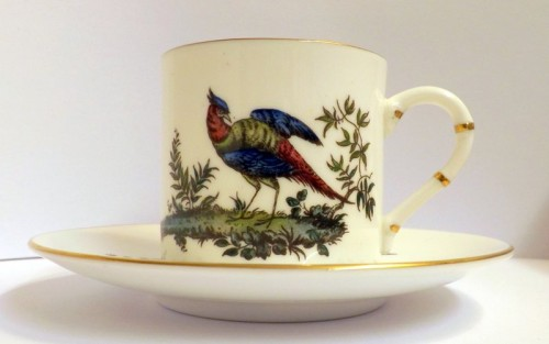 Royal Worcester Coffee Can and Saucer