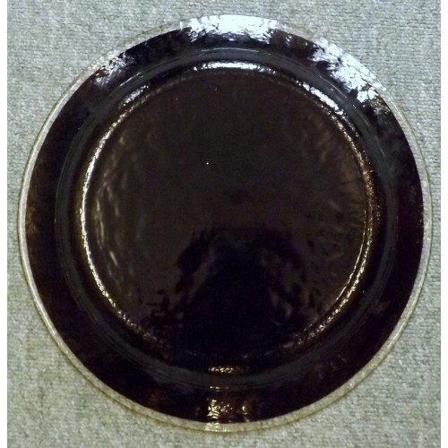 Murano Black Glass Dish