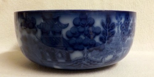 Doulton Burslem Willow Pattern Bowl