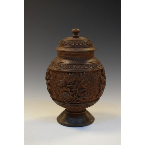 Heavily Carved Canister