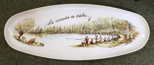 Chauvigny Fishing Competition Platter
