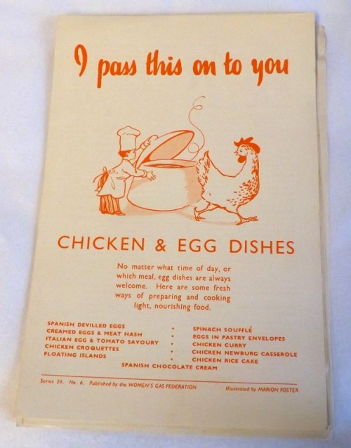 Chicken and Egg Dishes