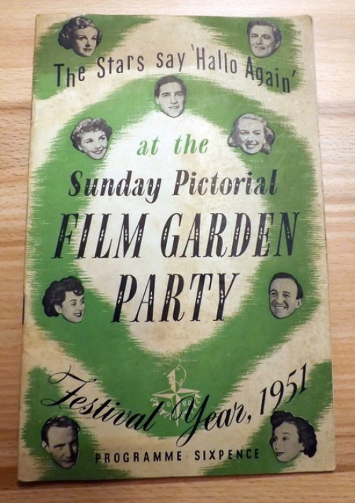 Sunday Pictorial Film Garden Party