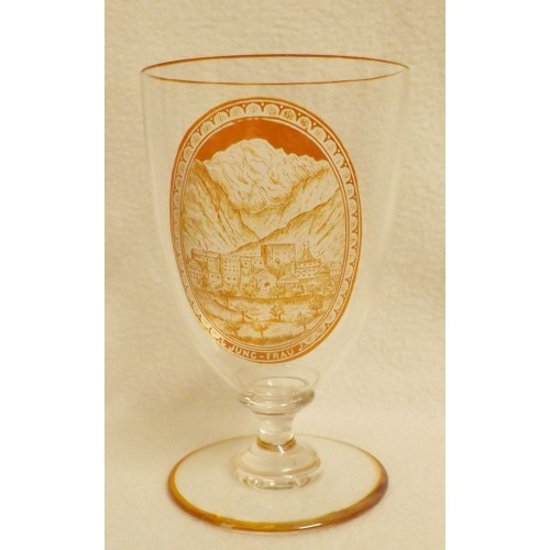 19th Century Bohemian Goblet