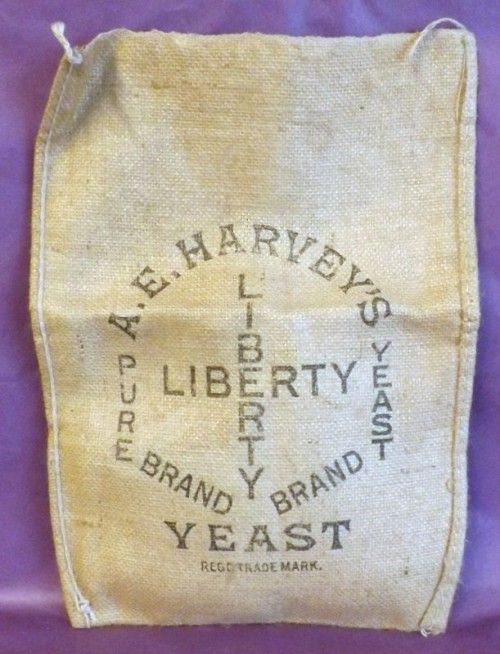 Hessian Advertising Sack