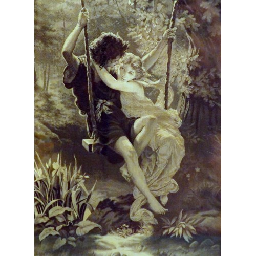Le Printemps Silk Tapestry
