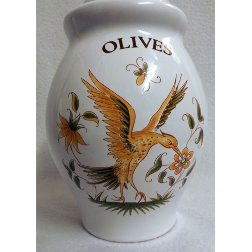 Moustiers Pottery Olive Jar