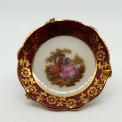 Limoges Plate on Stand