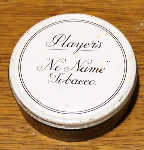 Player's Tobacco Tin