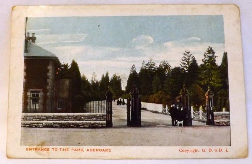 Entrance to the Park, Aberdare