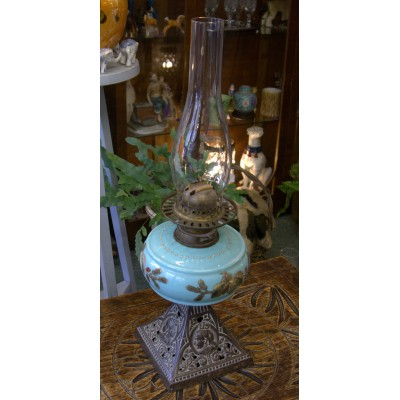 Queen Victoria Oil Lamp...