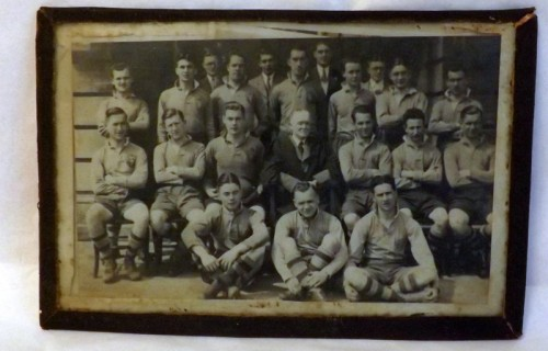 Vintage Rugby Photograph