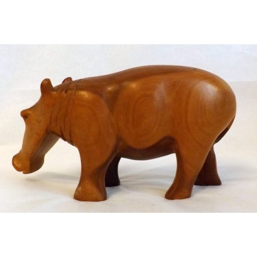 Carved Hippopotamus